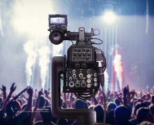 Remote operated camera design