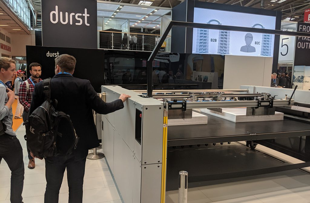 Realise viewing the Durst Large Format Printers by