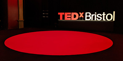 TEDx Bristol 2019 The Old Vic Stage