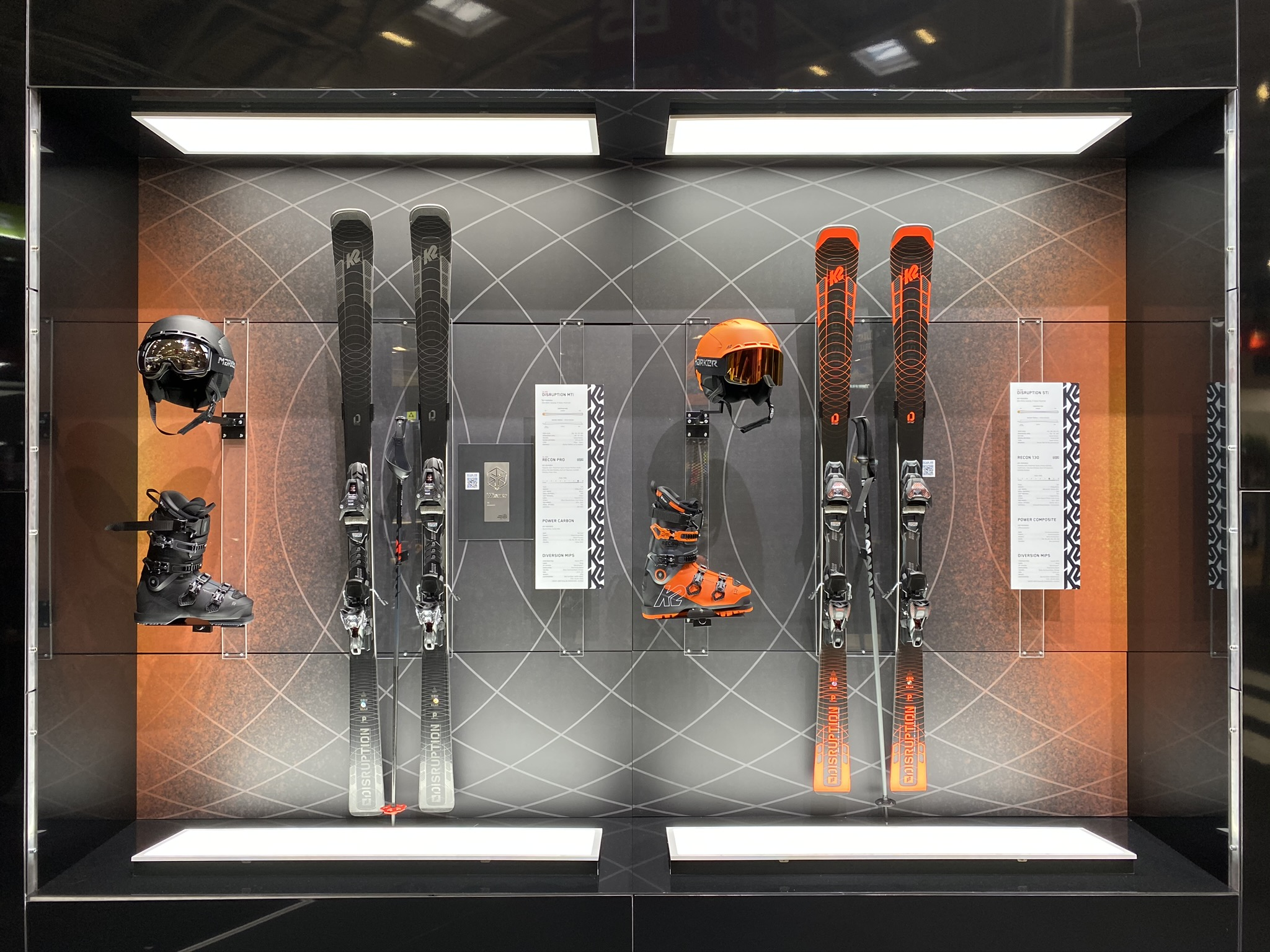 K2 Disruption Skis on show at ISPO 2020