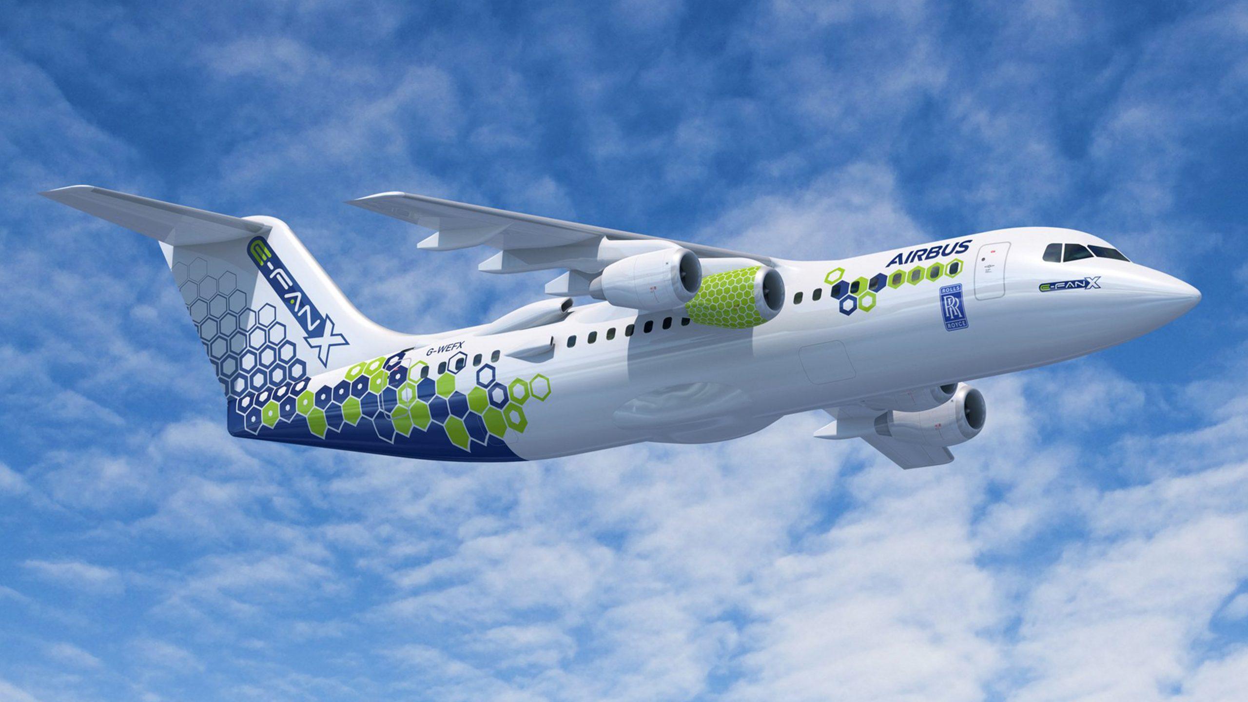 E-Fan X Concept by Airbus
